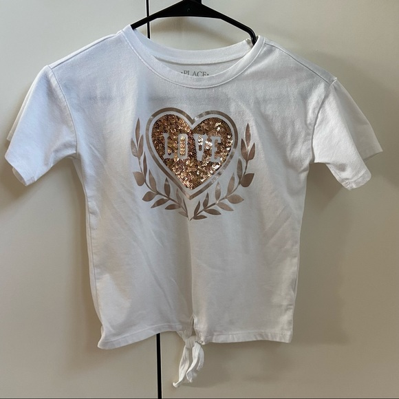 """🧸3for$12🧸""""The Childrens Place"""" heart kids tshirt"""